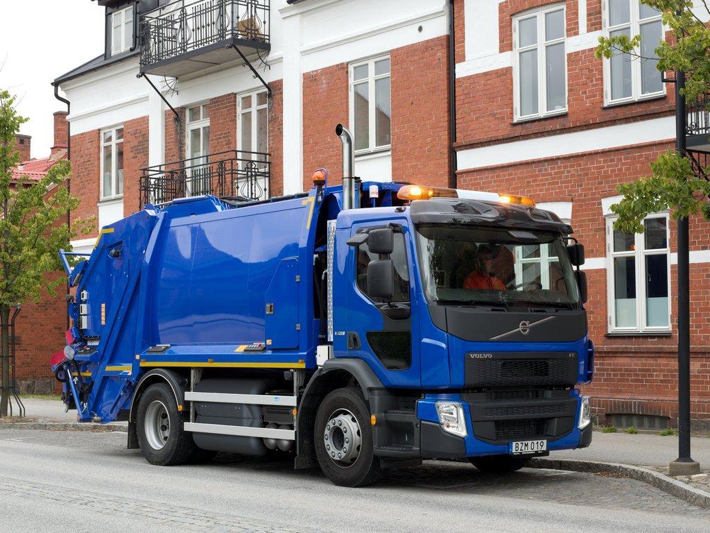 Nieuwe vrachtwagen op aardgas van Volvo Trucks