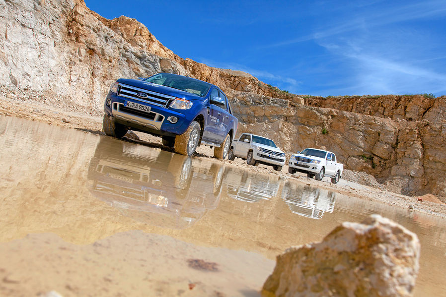 Pick-Up-Truck Test