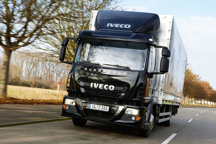 Iveco Eurocargo 120E25 for distribution traffic