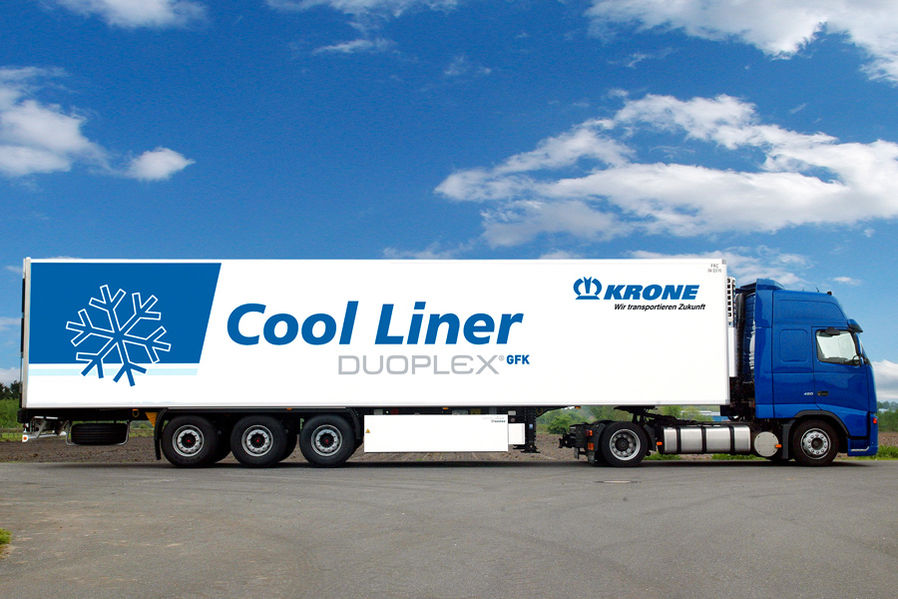 Better Insulation for Duoplex GFK Cooling Semitrailers