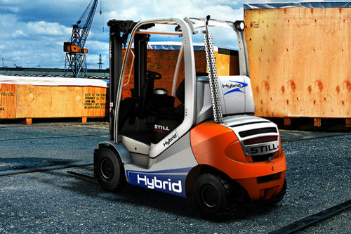 Forklifts are ecological, too