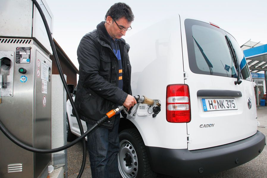 VW Caddy 1.6 Bifuel Test