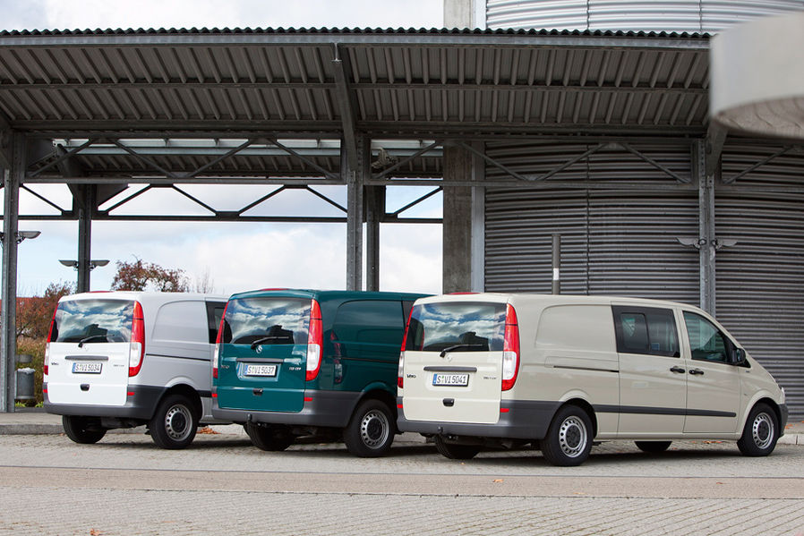 Mercedes Benz Vito - Test in three versions