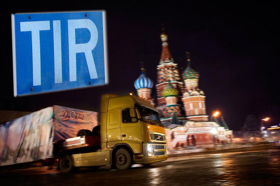 Einigung in letzter Minute: Bis zum 1. Juni 2014 können Transporte nach und durch Russland weiterhin unter den bestehenden Carnet TIR-Bedingungen durchgeführt werden.