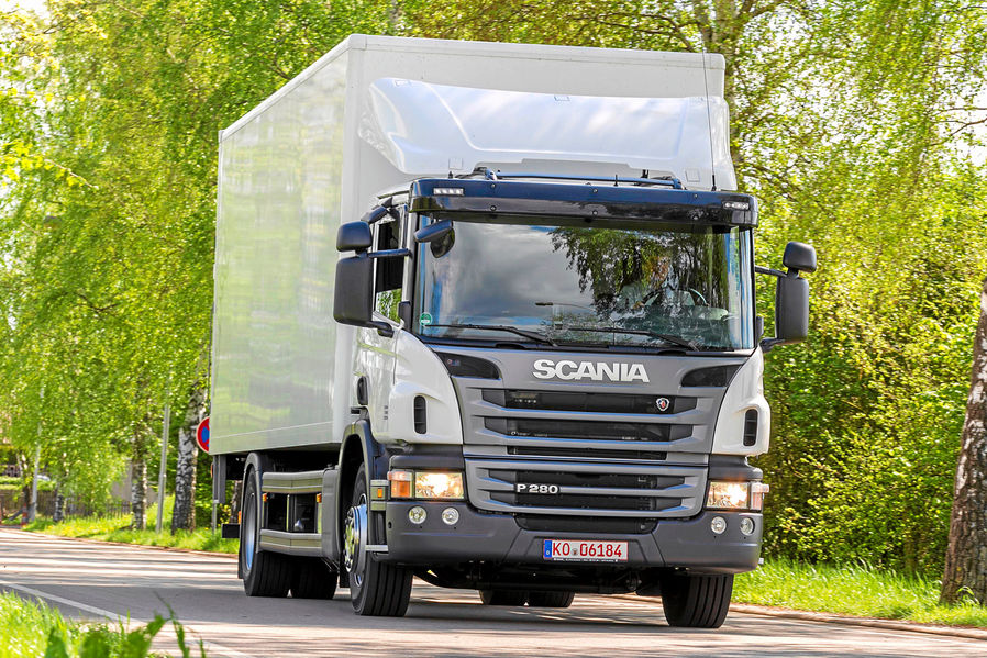 Scania P280: Sparsame Wuchtbrumme