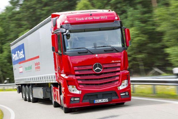 Mercedes-Benz Actros - der Verwöhn-Lkw