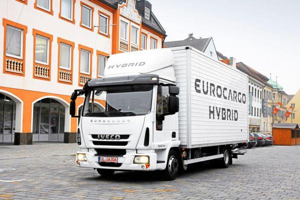 Was kann der Iveco Eurocargo mit Hybridantrieb?