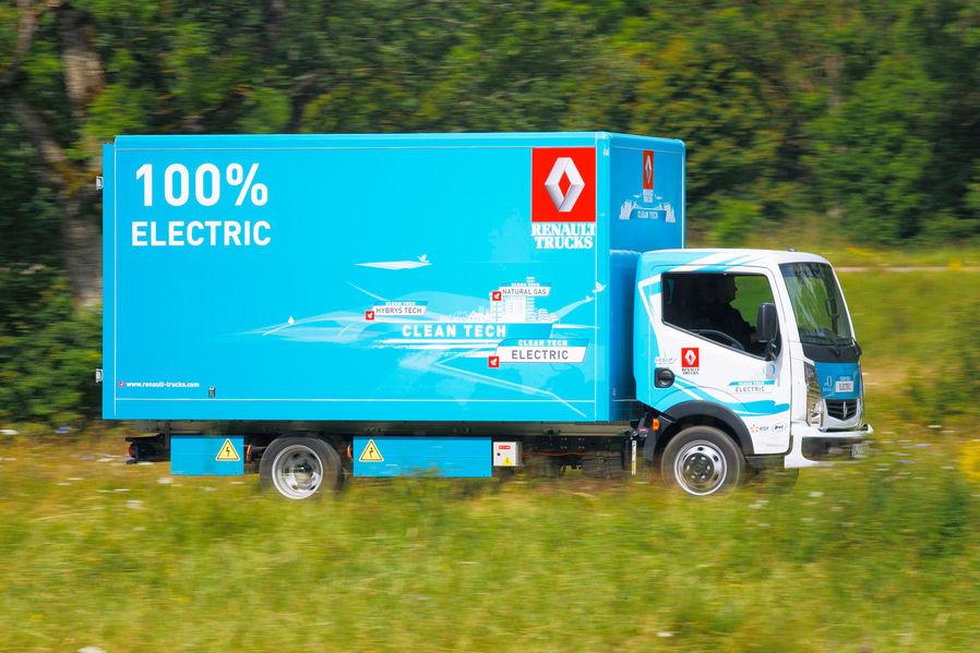 Renault Maxity Electric: Keiner ist sparsamer