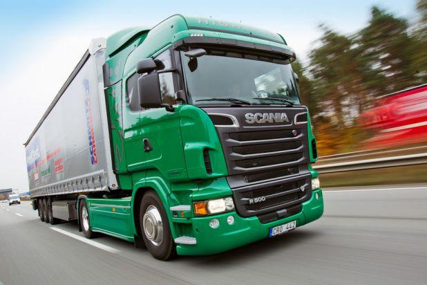 Scania R500: Viel Power, wenig Durst