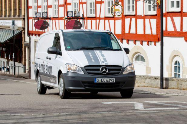 Vito E-Cell: un veicolo silenzioso per la città