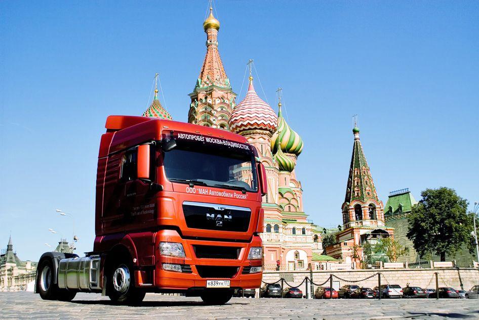 Lkw-Export nach Russland gerät ins Stocken