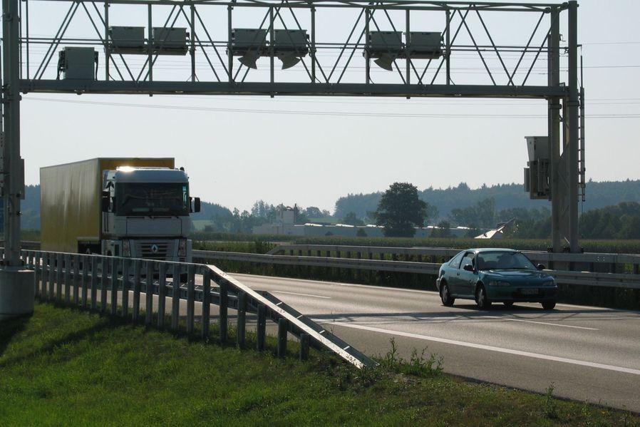 Lkw-Maut in Deutschlands Nachbarländern