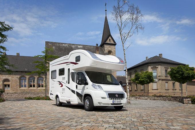 Alkoven-Reisemobile: 10 gefragte Modelle