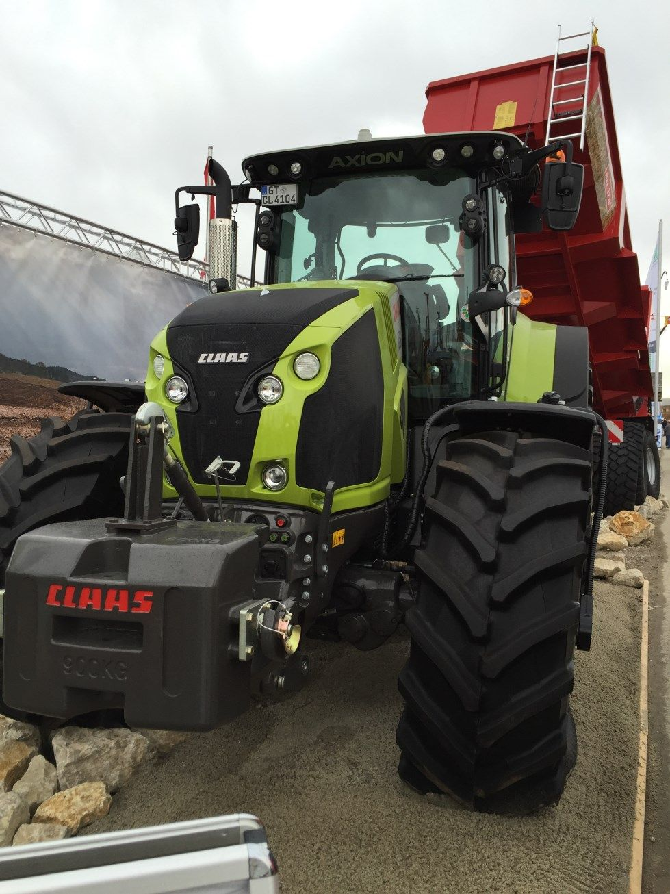 bauma-2016-Claas-870-Axion