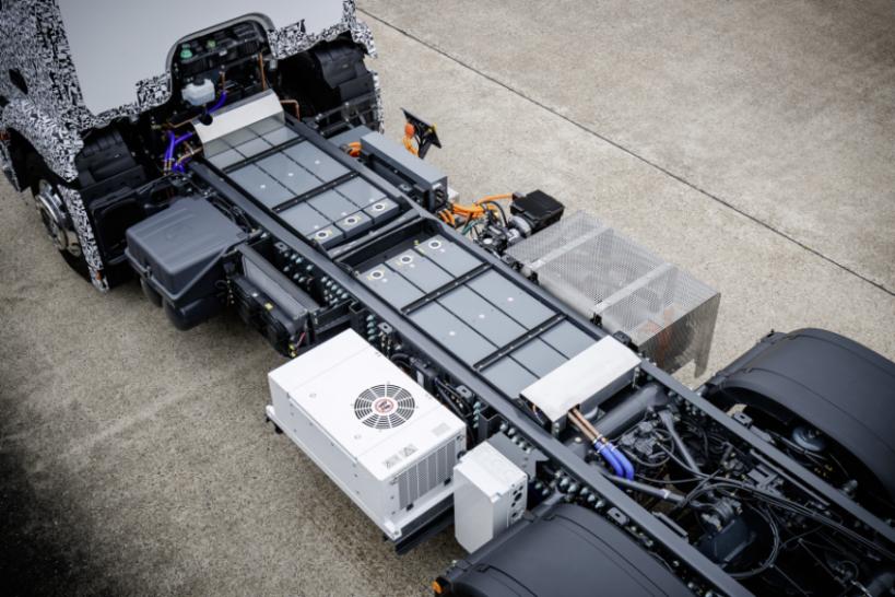 Mercedes-Benz Urban eTruck, Elektro-Truck Batterien