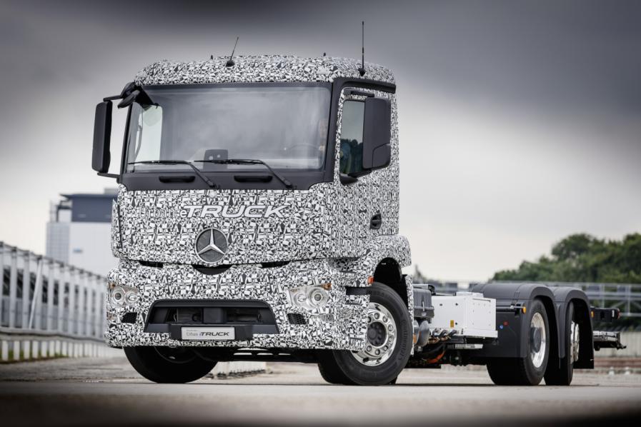 Mercedes-Benz Urban eTruck, Elektro-Truck