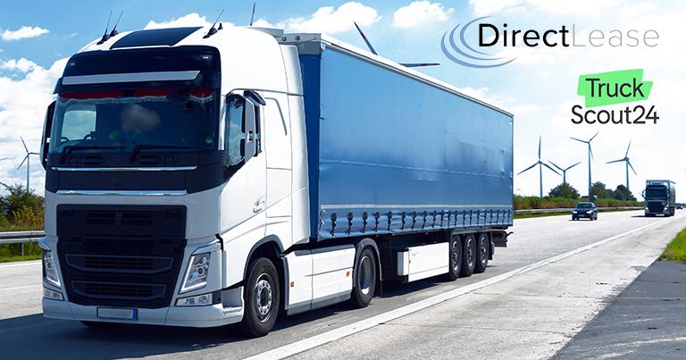 Nutzfahrzeug-Leasing leicht gemacht mit DirectLease und TruckScout24.