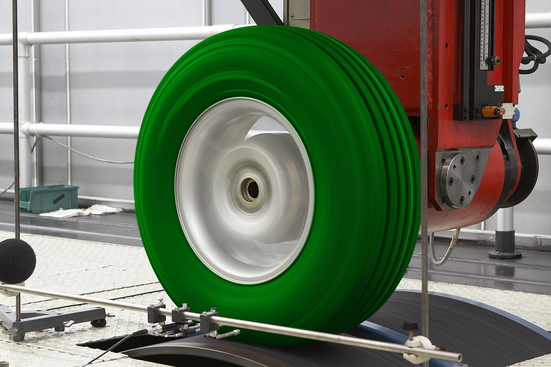 Étude sur des pneus à faible résistance
