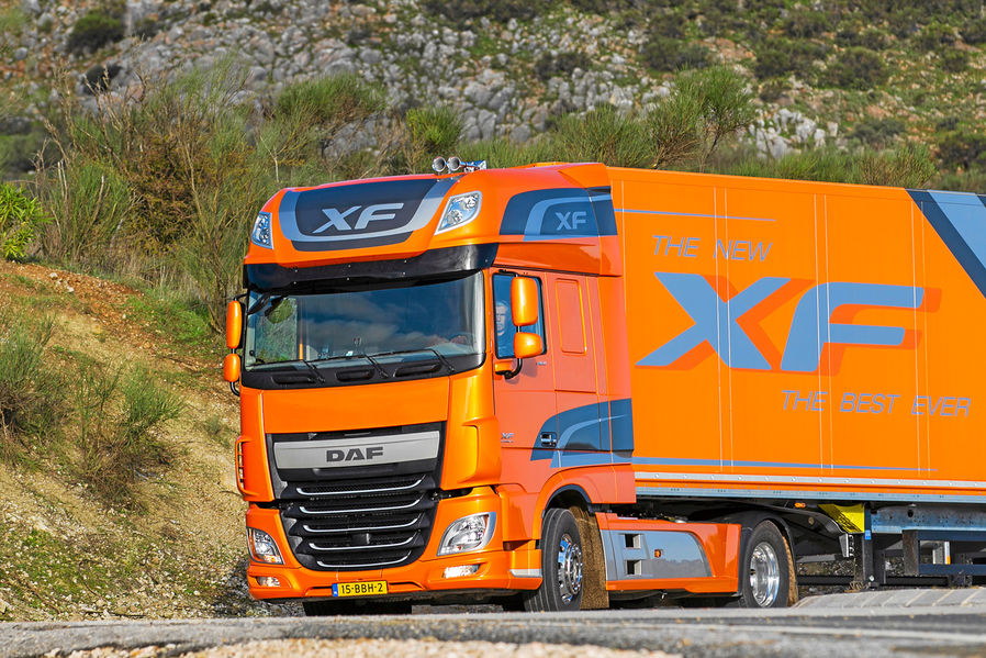 DAF XF avec motorisations Euro 6