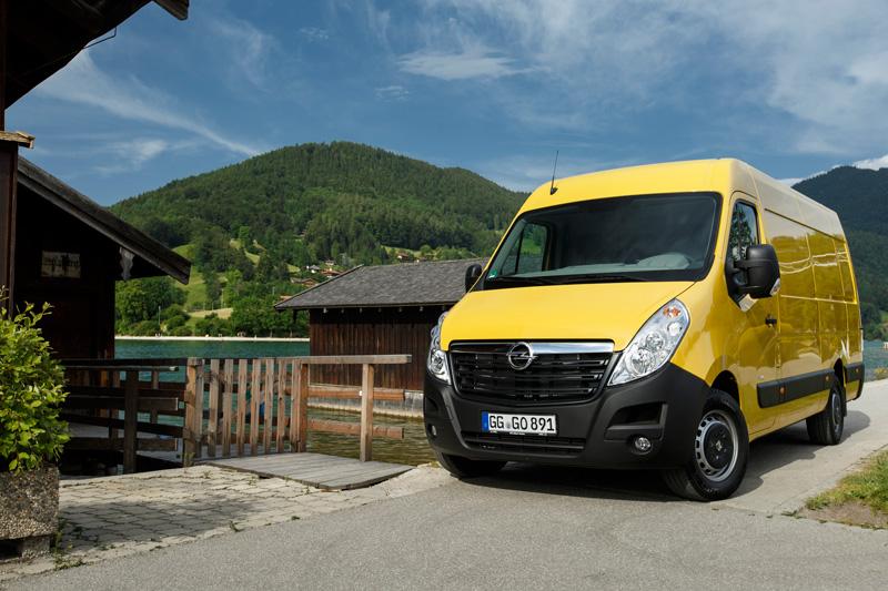 Opel Movano: plus de choix