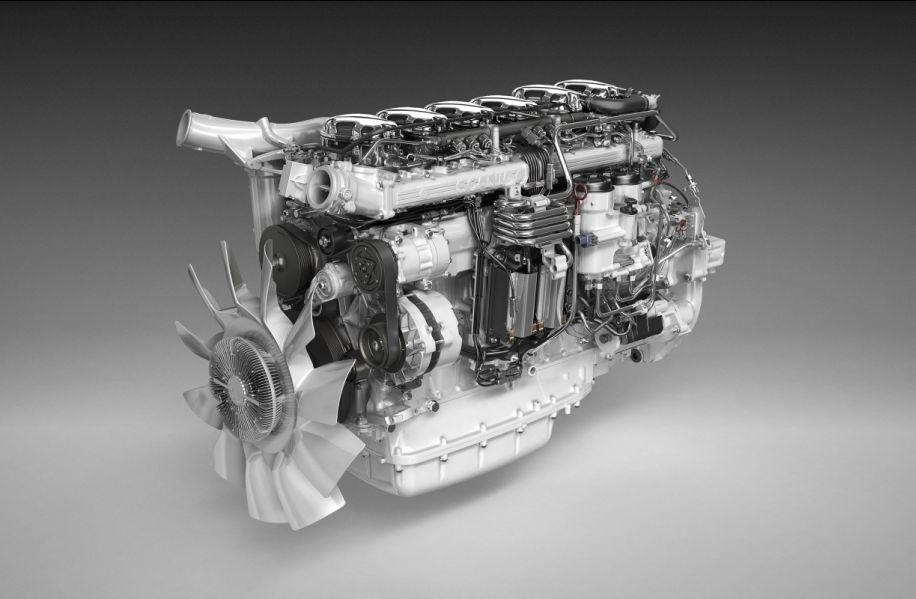 SCR et rien d'autre pour le moteur 450 ch de Scania
