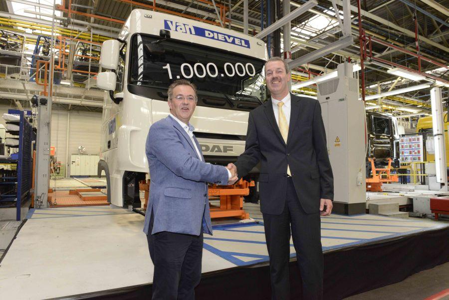 Une millionième cabine pour DAF Vlaanderen