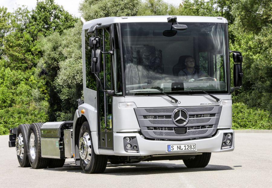 Un Mercedes-Benz Econic au gaz à Hanovre