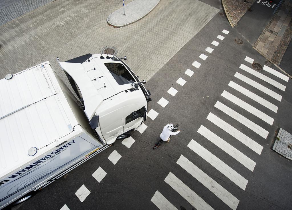 Volvo veut renforcer la sécurité par une visibilité à 360°
