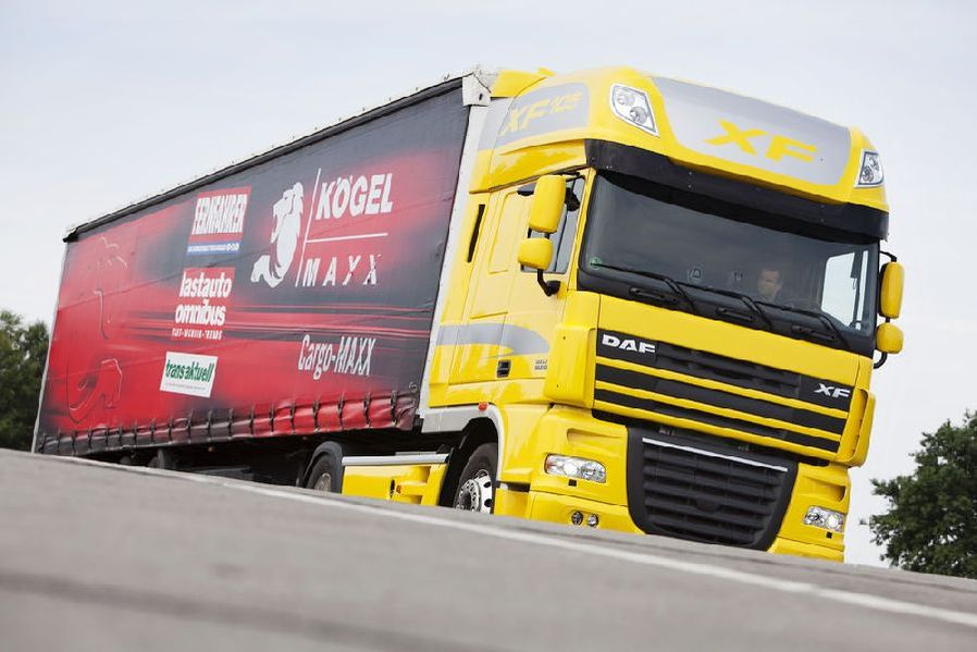 DAF XF 105.510 sottoposto a test drive