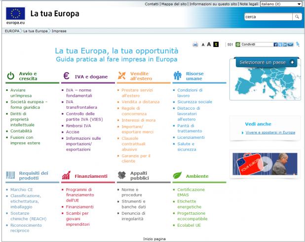 Incentivi europei per il ceto medio