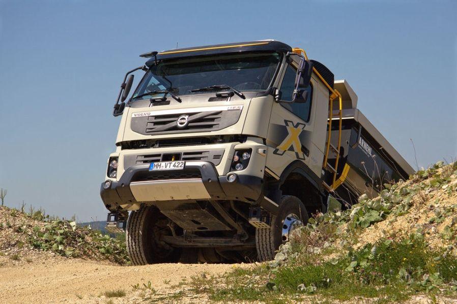 Volvo FMX 460: potig op de bouwplaats